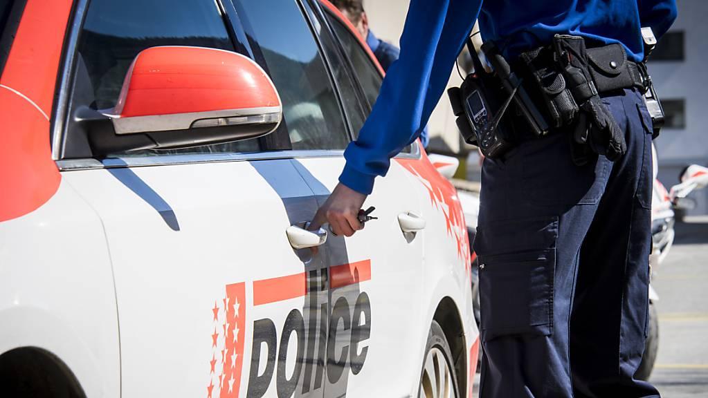 In Martigny VS musste die Polizei wegen Maskengegnern in einem Einkaufszentrum ausrücken. (Symbolbild)