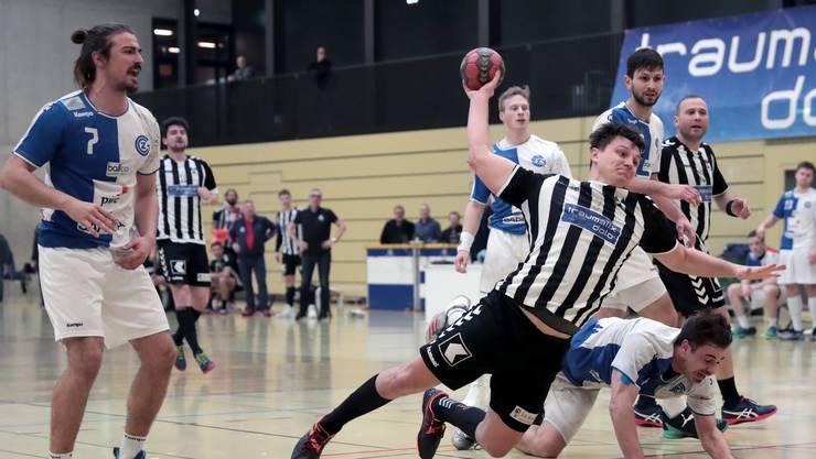 Der RTV Basel steht vor einem wichtigen Heimspiel gegen GC.