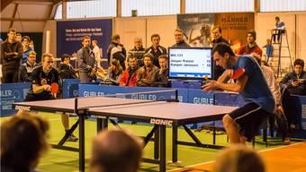 Im Elite-Final trafen die beiden Dänen Jesper Ratzer (links) und Kasper Jønsson aufeinander.