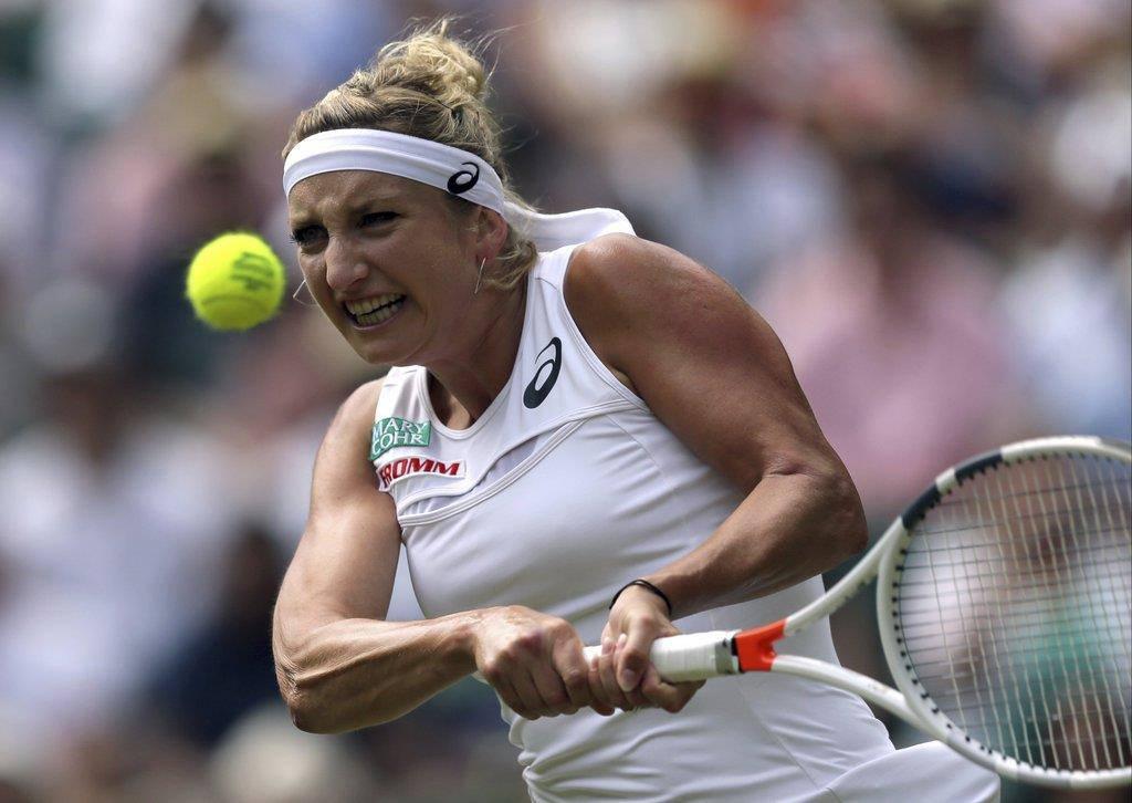 Bacsinszky verliert gegen Radwanska (© KEYSTONE/EPA/AP)