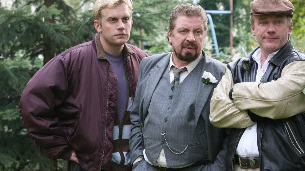 """Schauspieler Sebastian Bezzel (links) spielte nebst dem """"Tatort"""" in zahlreichen Film- und TV-Produktionen mit. (Archivbild)"""