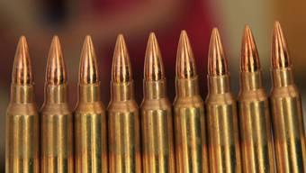 Die Munition für's Sturmgewehr.