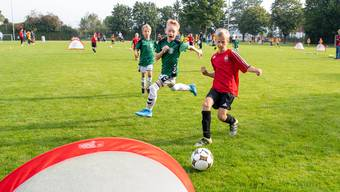Statt auf Tore mit Torhütern sollen Kinder neu auch auf sogenannte Mini-Tore spielen.
