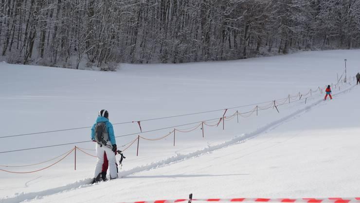 Skilift Asp Densbüren am Strihen