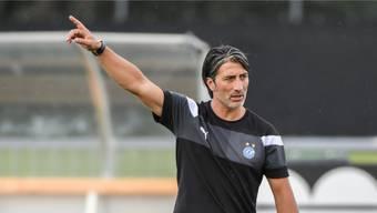 Murat Yakin (42) steht am Sonntag gegen den FC Sion erstmals bei den Grasshoppers an der Seitenlinie.Freshfocus