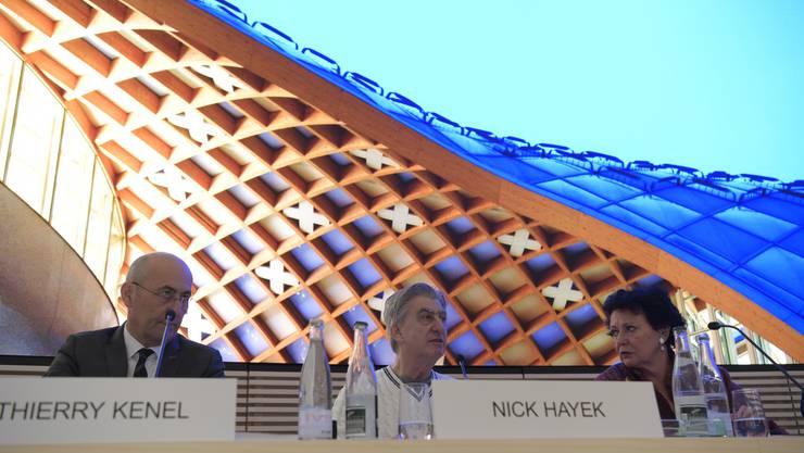 Swatch Group Bilanz Medienkonferenz  Foto: Oliver Menge