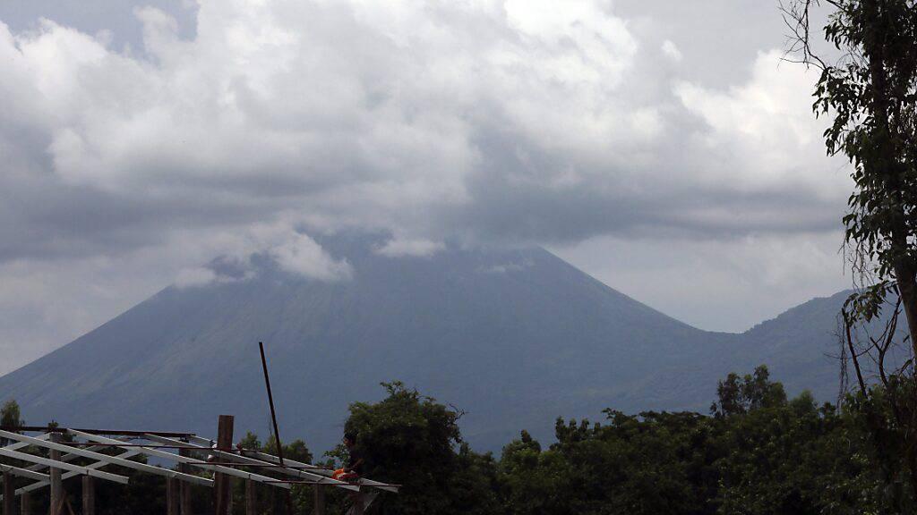 Der Vulkan San Cristobal in Chichigalpa (Nicaragua) speit Lava und Ascheregen. (Archivbild)