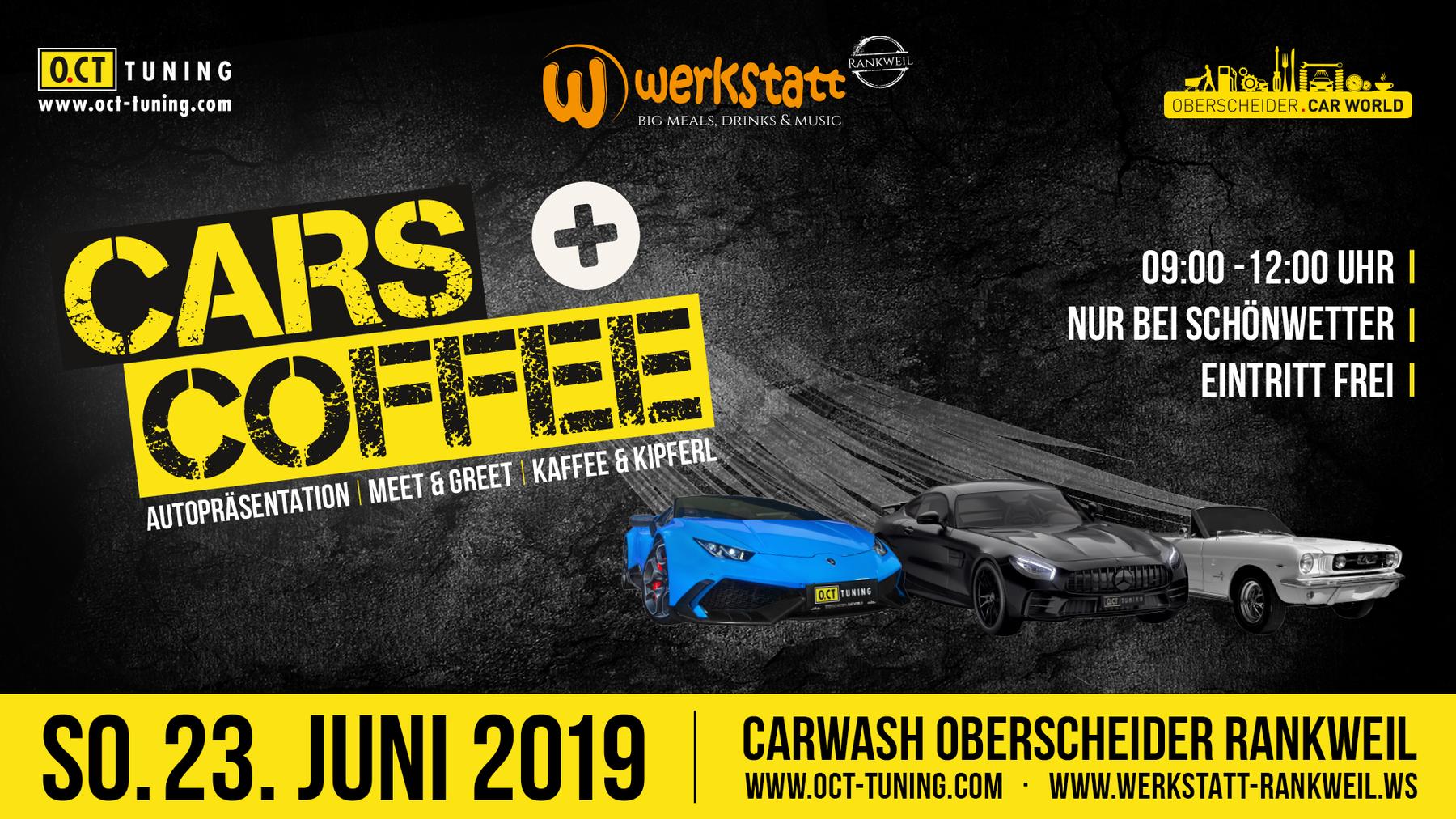 Bereits zum zweiten Mal findet das Cars & Coffee statt. (Bild: pd)