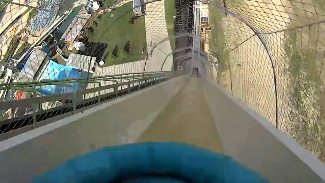 «Verrückt» heisst die höchste Wasserrutsche der Welt.