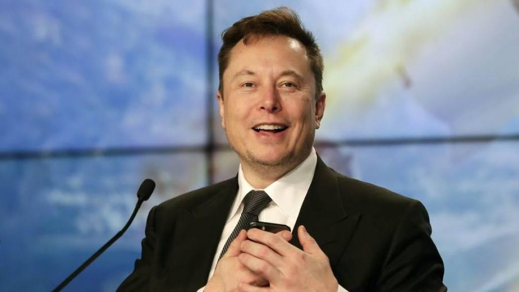 Elektroauto-Pionier Elon Musk jetzt auch Musiker