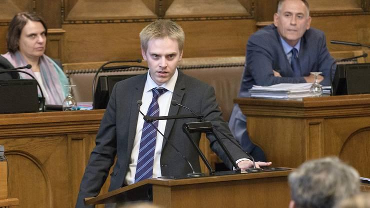 Chancenlos: SVP-Grossrat Pascal Messerli fordert, dass Flüchtlingen die Sozialhilfe gestrichen wird.