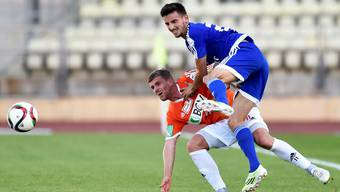Samir Ramizi (oben) verlässt den FC Wohlen.