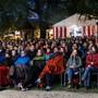 Das Publikum beim Eröffnungsfilm.