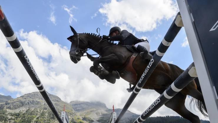 Romain Duguet räumte auch in Humlikon die Hindernisse nicht ab