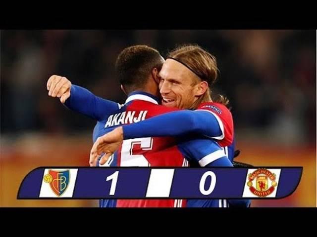Die besten Szenen des Champions League-Spiels gegen Manchester United im Video