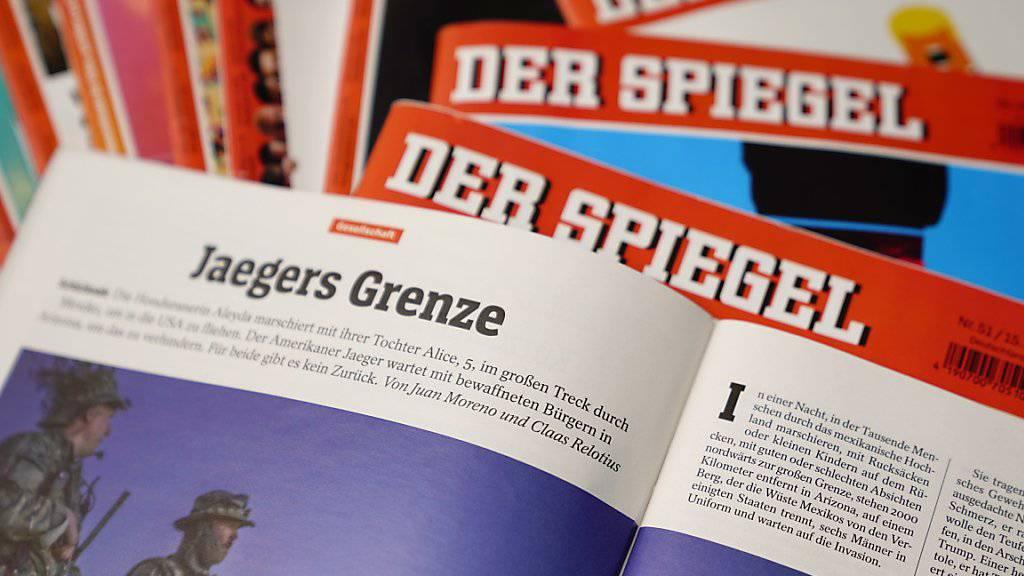 In weiten Teilen erfunden: «Spiegel»-Artikel «Jaegers Grenze» vom November über die Grenze zwischen den USA und Mexiko. Mitautor Claas Relotius fälschte in den vergangenen Jahren mehrere Reportagen. (Symbolbild)