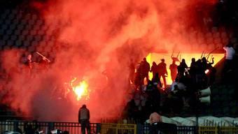 Dutzende Tote nach Fussball-Krawalle in Ägypten