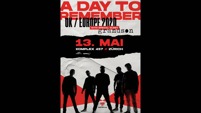 A Day To Remember live in Zürich!