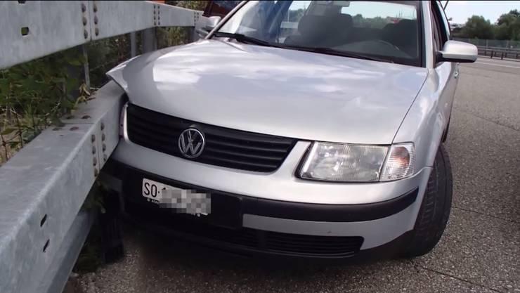 Der 29-jährige Autofahrer flüchtete mit diesem Auto vor der Polizeikontrolle.