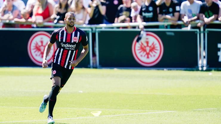 Durfte schon einmal Bundesliga-Luft schnuppern: Djibril Sow im Trikot der Adler.