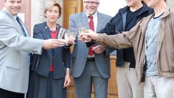 Vier der fünf Stadträte, die 2009 für die erste Amtsperiode nach der Fusion gewählt wurden, treten nicht mehr zur Wiederwahl an. sh/archiv