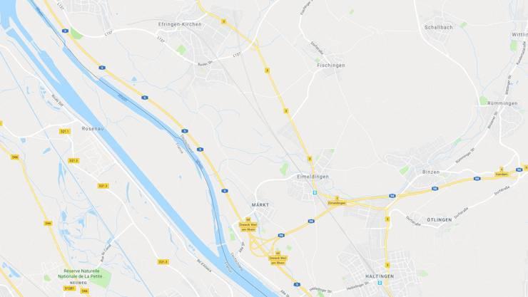Die Unfälle passierten zwischen Efringen-Kirchen und dem Autobahn-Dreieck Weil am Rhein.