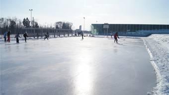 Eisbahn beim Sportzentrum Burkertsmatt