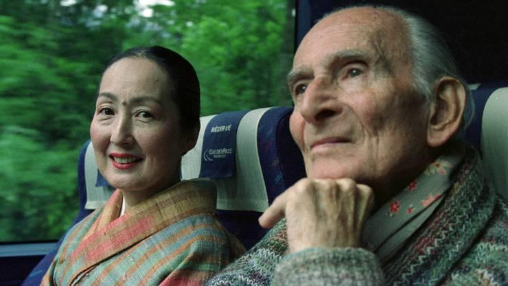 Balthus lebte zusammen mit seiner Frau Setsuko Klossowski fast 25 Jahre im waadtländischen Ort Rossinière (Archiv)