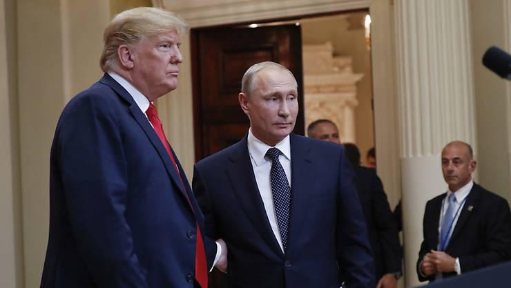 Treffen sich erst 2019 wieder: Trump und Putin.