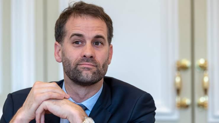 Mit Sexismus-Kritik konfrontiert: Genfs Regierungspräsident Antonio Hodgers. (Keystone)