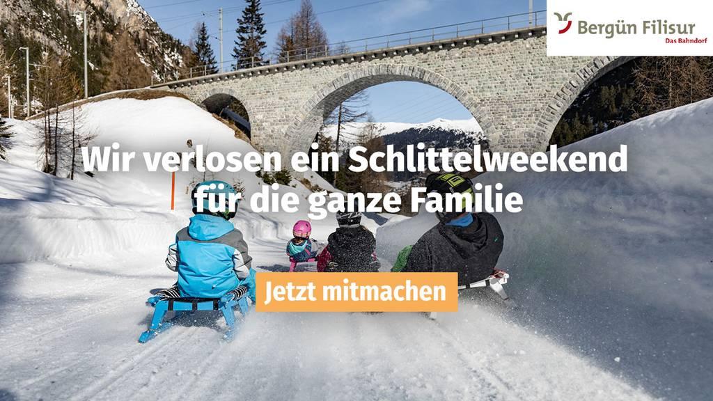 FM1Today schickt dich gratis ins Schlittelparadies Bergün