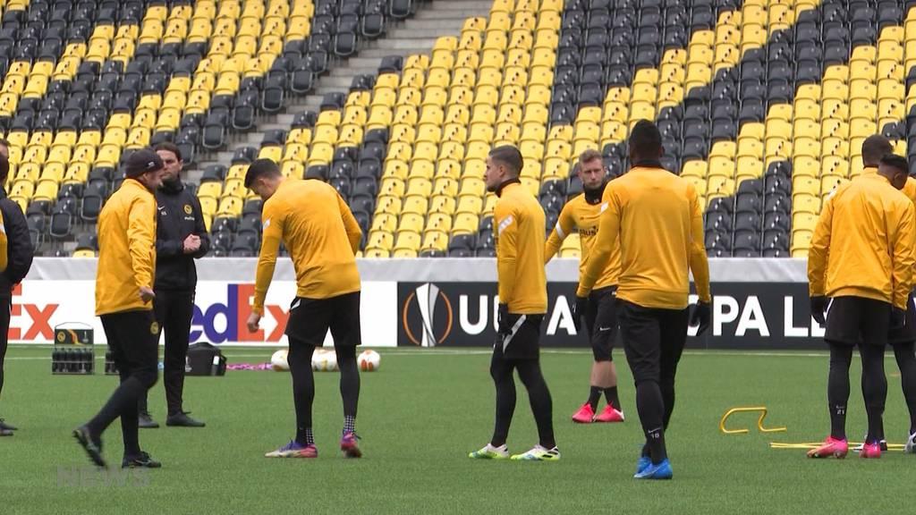 Trotz Aussenseiterposition zuversichtlich: YB gegen Bayer Leverkusen in der Europa League