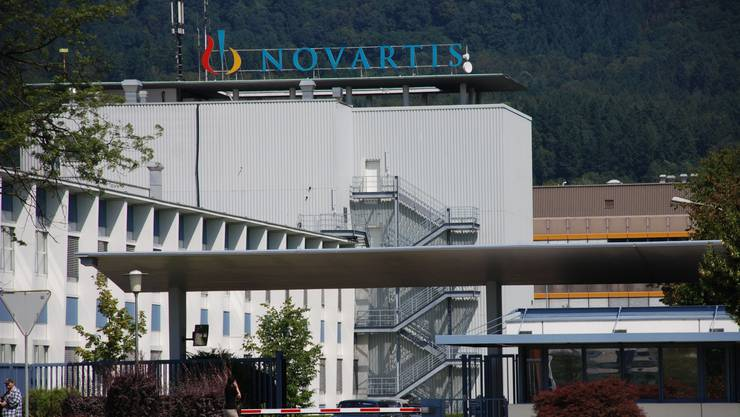 Das Novartis-Werk in Stein AG.