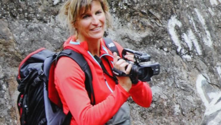Evelyne Binsack auf der steten Suche nach Herausforderungen