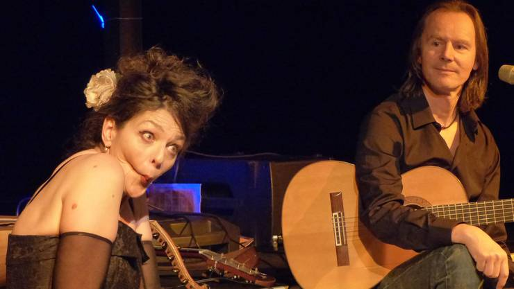 Rosetta Lopardo mit Christian Fotsch in der Stadthalle.