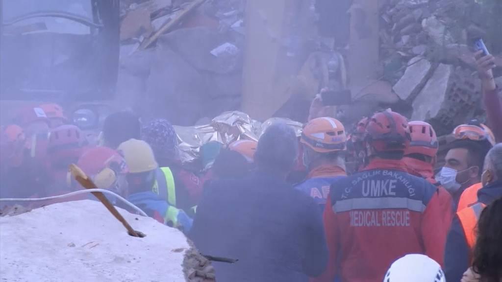 Türkei: Kleinkind 65 Stunden nach dem Erdbeben aus Trümmern gerettet