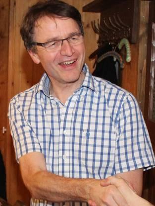 Das neue Ehrenmitglied Hannes Gehrig