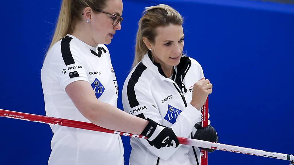 Schweizerinnen auch nach fünf Spielen makellos