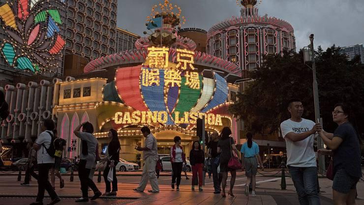 Macau ist ein Paradies für Glücksspieler, Geldwäscher und Touristen vom chinesischen Festland.