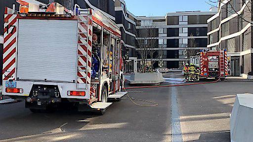 Zehn Personen evakuiert nach Brand in Zug