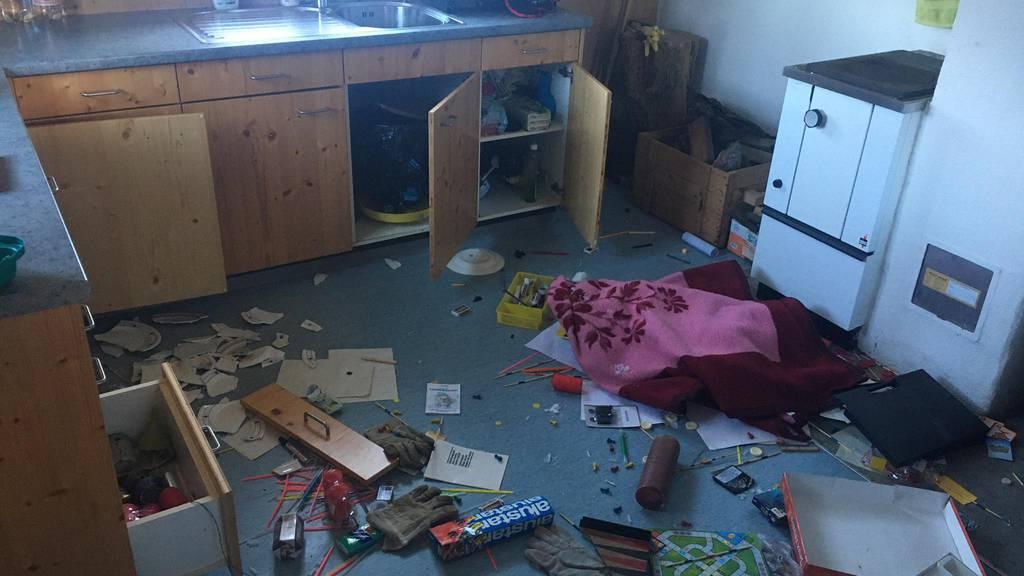 Vandalismus in Alphütten – schwieriger Fall für die Polizei