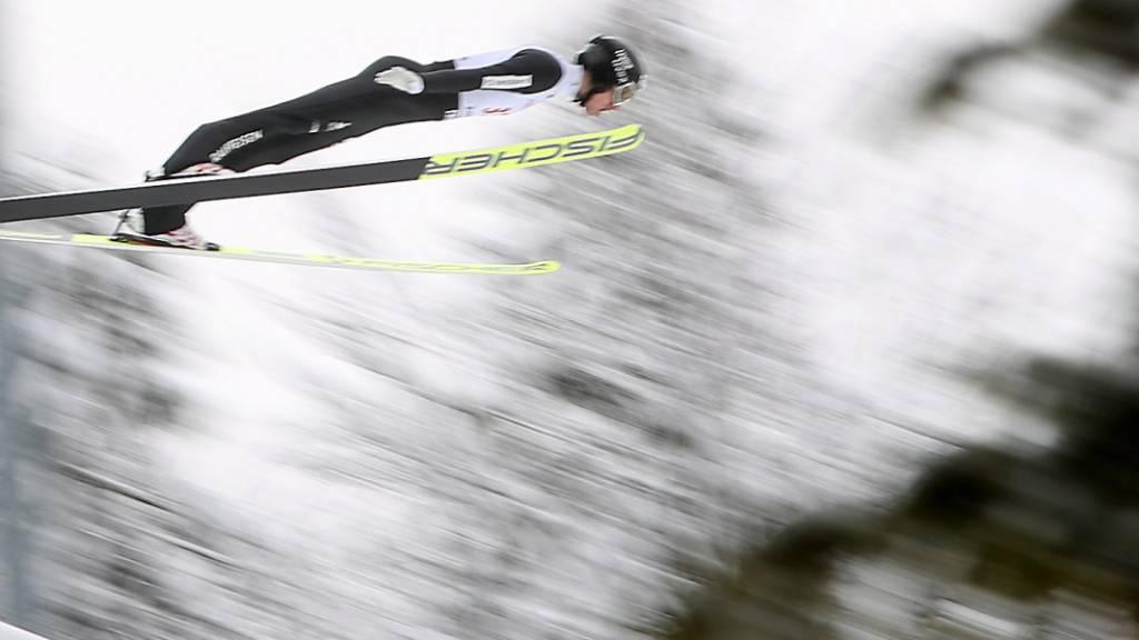Sicher im Finaldurchgang, aber kein Spitzenresultat: Gergor Deschwanden sprang in Zakopane auf den 24. Platz