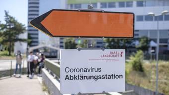 Seit dem ersten August besuchen nicht nur Schüler, sondern auch Corona-Verdachtsfälle den Spenglerpark in Münchenstein.