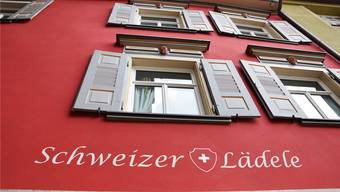 Seit 1997 besteht dieses Ladenlokal am Schwarzen Tor in Rottweil (D).
