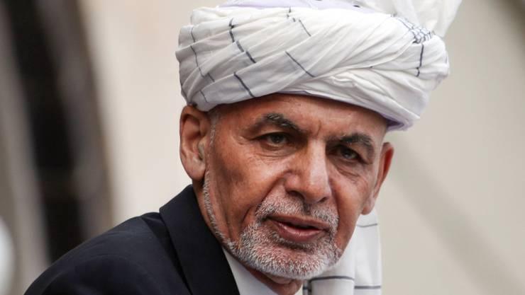 ARCHIV - Afghanistans Präsident Aschraf Ghani. Foto: Rahmat Gul/AP/dpa