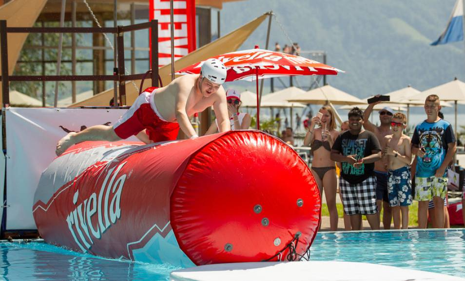 Bendrit ist Ehrgast der Beach-Party in der Schlieremer Badi Moos
