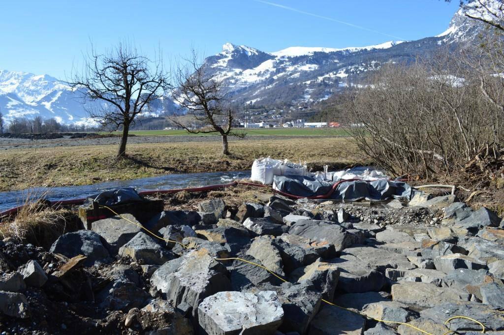 Die Gewässerläufe Höiwise in Wartau werden revitalisiert. (© zVg)