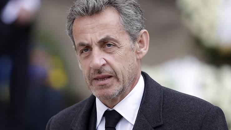 Der frühere französische Präsident Nicolas Sarkozy wird erstmals vor Gericht gestellt. Er soll 2014 versucht haben, einen Staatsanwalt am Obersten Gerichtshof zu bestechen. (Archivbild)