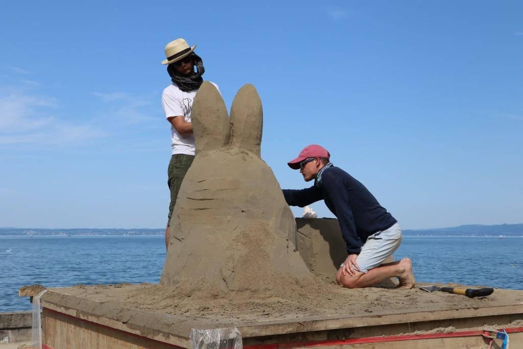 Sandskulpturen 2017 (© FM1Today/Angela Müller)