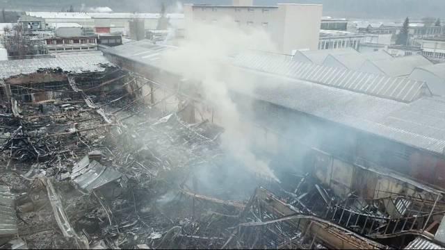 Millionenschaden nach Brand in Rothrist wegen Fahrlässigkeit?